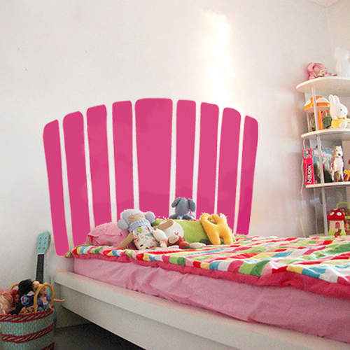 intense pink girls bedroom
