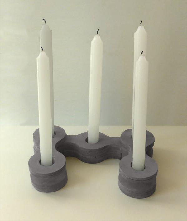 regalos handmade candelabro vintage