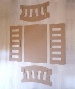 Regalos Juguetes homemade diy homemade Cuna juguetes de madera diy