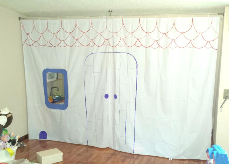 casa de juguete diy