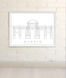 Dibujos de Madrid Puerta de Alcala