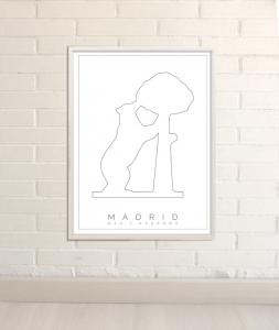 Dibujos de Madrid logo madrid