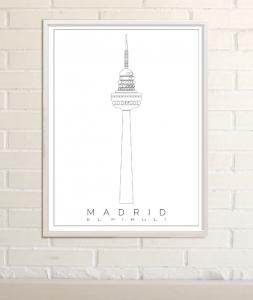 Dibujos de Madrid piruli