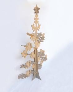Arbol navidad desmontable de estilo nordico en dm