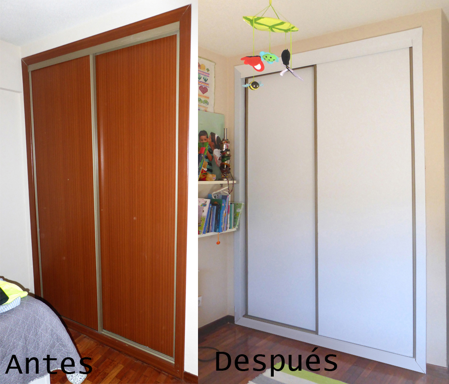 renovar armario sin obras