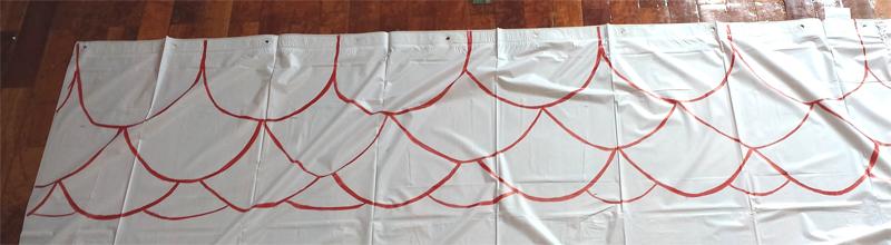 casa diy niños pintamos las tejas