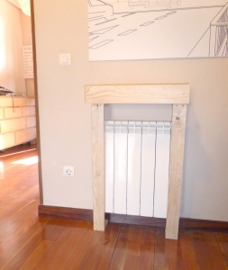 Cubre radiador de Sergio un mueble perfecto para tu piso