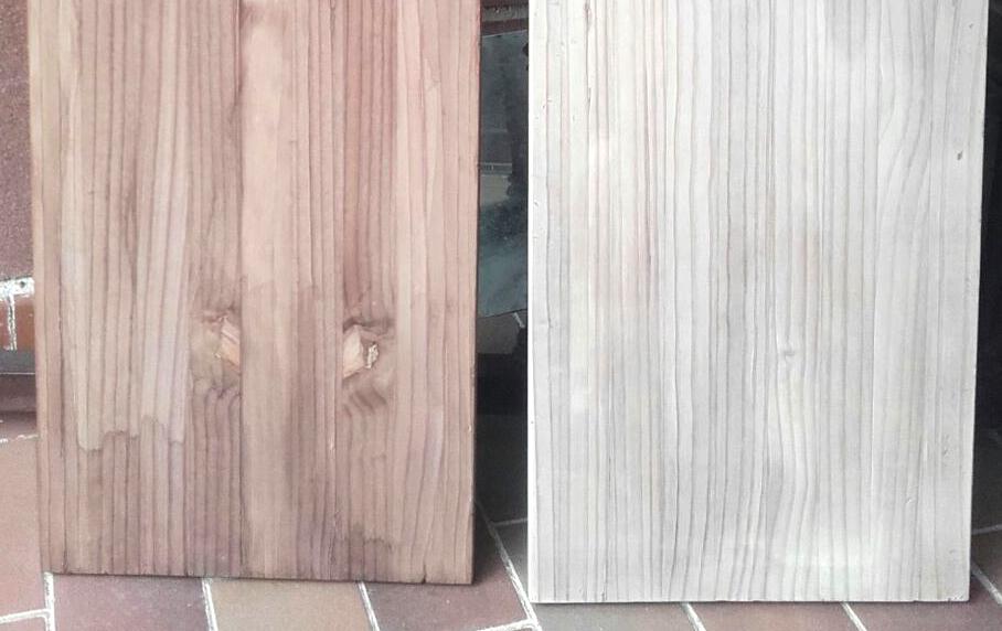 marcar la veta en la madera