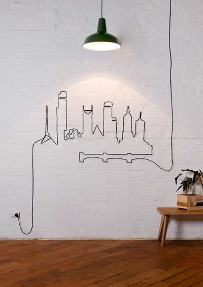 cubrir cables electricos
