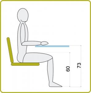 mesa de estudio medidas minimas