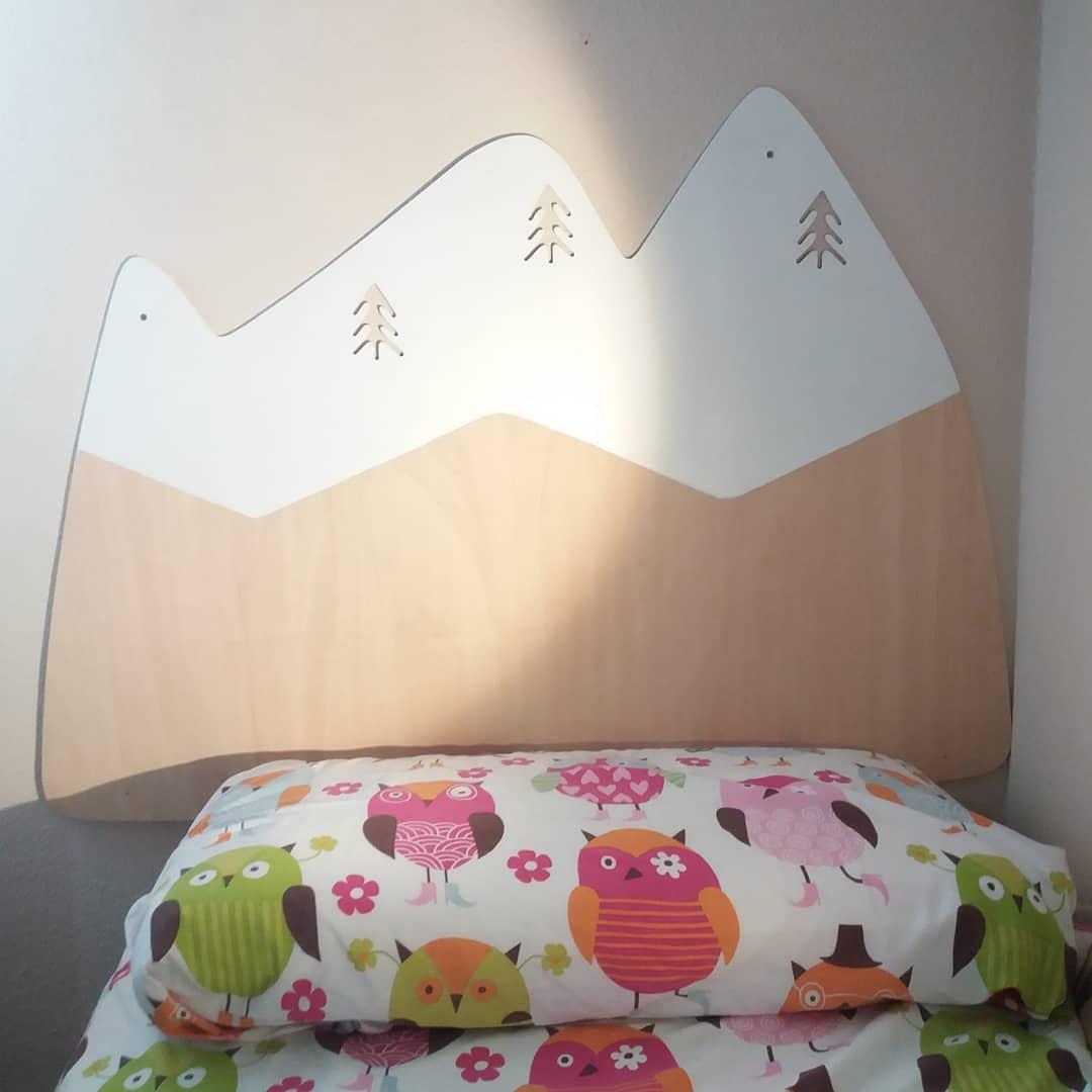 decoracion infantil montañas