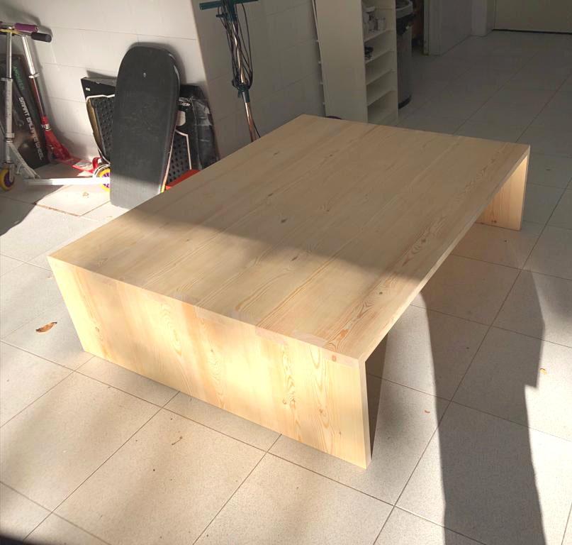 paso a paso de como teñimos una mesa de pino con aceite de teka, decoracion casas pequeñas, decorating small appartments