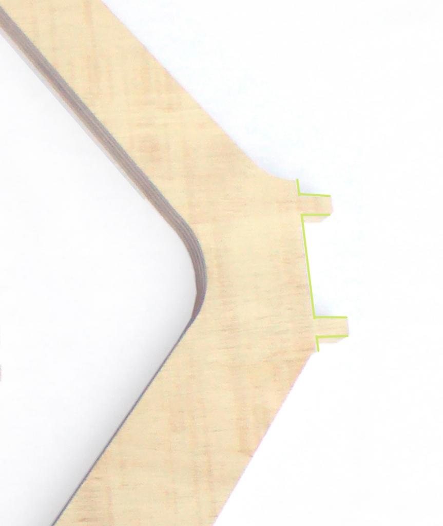 patas mesa madera estratificada para que compongas tu mesa de comedor como quieras