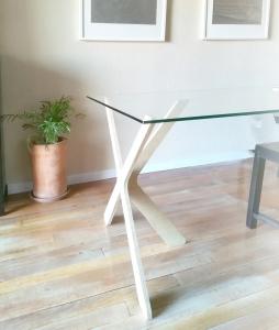 Como montar las Patas mesa comedor madera diy